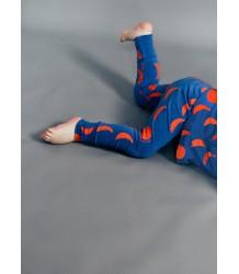 Beau LOves Baby Slim Pants MOONS Beau LOves Baby Slim Pants MOONS blue and red