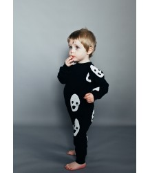 Beau LOves Raglan Romper Suit GHOSTS Beau LOves Raglan Romper Suit GHOSTS