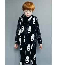 Beau LOves Jacquard Knitted Scarf GHOSTS Beau LOves Jacquard Knitted Scarf GHOSTS