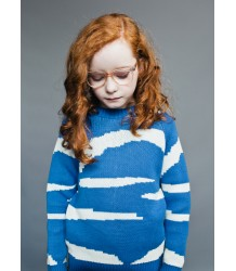 Beau LOves Loose Knit Jumper TIGER STRIPES Beau LOves Loose Knit Jumper TIGER STRIPES blue