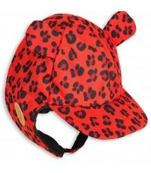 Mini Rodini Alaska LEOPARD Cap Mini Rodini Alaska LEOPARD Cap red