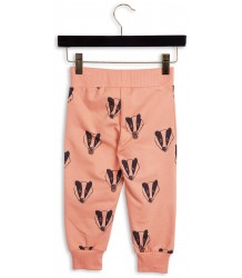 Mini Rodini Sweatpants BADGER Mini Rodini Sweatpants BADGER pink