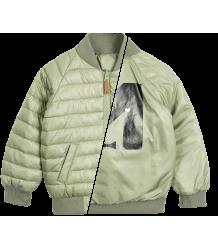 Mini Rodini Reversible Insulator Jacket Mini Rodini Reversible Insulator Jacket green