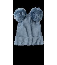Mini Rodini Ear Hat Mini Rodini Ear Hat soft blue