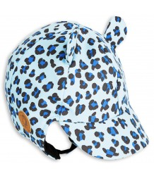 Mini Rodini Alaska LEOPARD Cap Mini Rodini Alaska LEOPARD Cap light blue