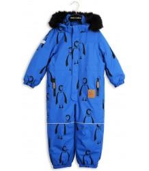 Mini Rodini Alaska PENGUIN Overall Mini Rodini Alaska AOP Overall blue