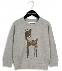 Mini Rodini Sweatshirt ROE DEER Mini Rodini Sweatshirt ROE DEER