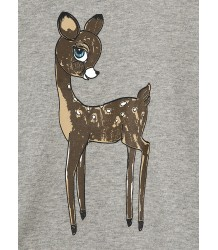Mini Rodini Sweatshirt ROE DEER Mini Rodini Sweatshirt KIKKER