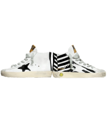 Golden Goose Francy FLAG Golden Goose Francy FLAG black and white