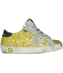 Golden Goose Superstar GLITTER Golden Goose Superstar GLITTER yellow
