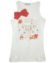 Singlet with Bow Patrizia Pepe Girls Singlet with Bow