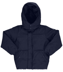 Popupshop Bubble Jacket Popupshop Bubble Jacket navy