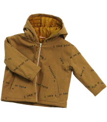 Tiny Cottons Padded Jacket MANY WORDS Tiny Cottons Padded Jacket MANY WORDS