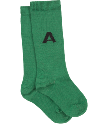The Animals Observatory Worm Baby Socks The Animals Observatory Worm Baby Socks green