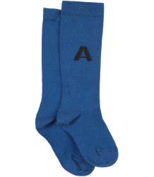 The Animals Observatory Worm Baby Socks The Animals Observatory Worm Baby Socks blue