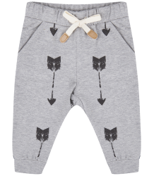 Little Indians ARROW Pants Little Indians ARROW Pants grey melange