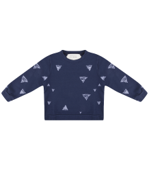 Little Indians TRIANGLE Sweater Little Indians TRIANGLE Sweater dark blue