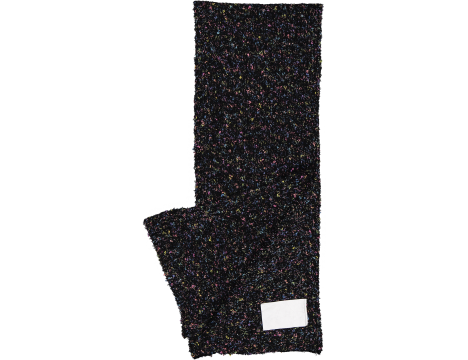 Caroline Bosmans Knitted Scarf #01 DISCO BLACK