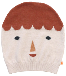 Tiny Cottons BIG FACE Beanie Tiny Cottons BIG FACE Beanie pink