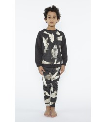 Popupshop Baggy Leggings BLACK BIRDS Popupshop Baggy Leggings BLACK BIRDS