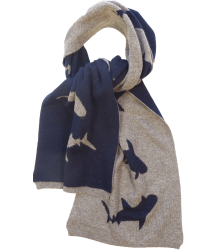 Simple Kids SHARK Chons Scarf Simple Kids SHARK Chons Inspiratio Scarf mink
