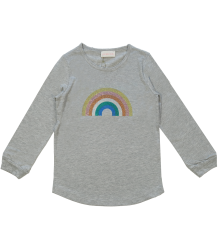 Rainbow T-shirt LS Simple Kids Rainbow T-shirt LS