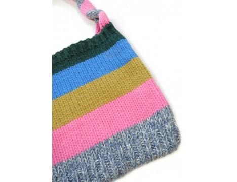 Simple Kids Wool Bag STRIPE
