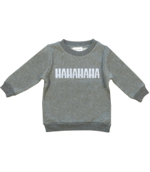 HAHAHA Sweatshirt Simple Kids HAHAHA Sweatshirt
