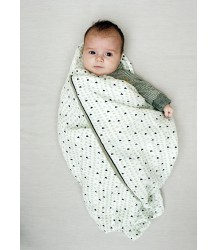 Kidscase HOME Rock Swaddle + Bag Kidscase HOME Rock Swaddle   Zakje soft green