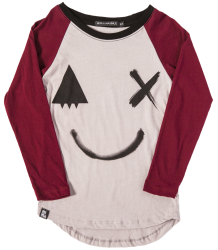 Mini & Maximus SMILE Raglan LS Mini & Maximus SMILE Raglan LS