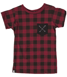 Mini & Maximus LUMBERJACK Pocket Tee SS Mini & Maximus LUMBERJACK Pocket Tee SS
