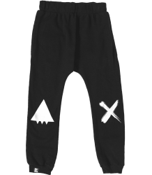 Mini & Maximus Drop Crotch Pants SMILE Mini & Maximus Drop Crotch Pants SMILE black