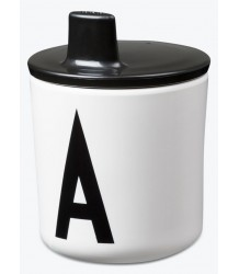Design Letters Drink Lid Design Letters Drink Lid black