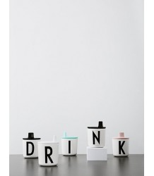 Design Letters Drink Lid Design Letters Drink Lid white