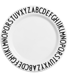 Design Letters ABC Kids Large Melamine Plate Design Letters ABC Kids Large Melamine Plate