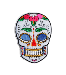 bij Kiki Iron-on Patch SKULL bij Kiki Iron-on Patch SKULL