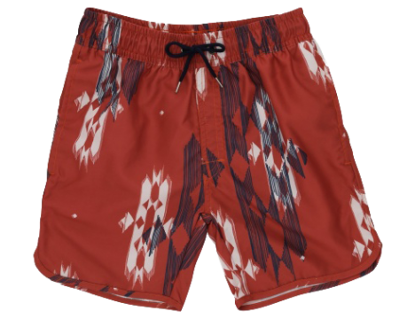 Soft Gallery Oliver Swim Shorts HOT SAUCE