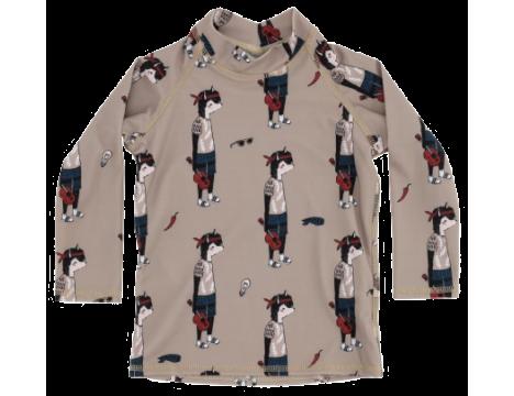 Soft Gallery Astin Swim Shirt DUDE aop