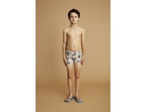 Soft Gallery Don Swim Trunk DUDE aop