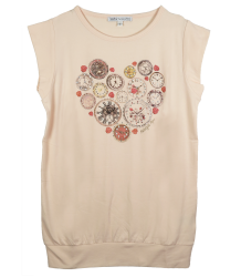 Patrizia Pepe Girls T-shirt Clocks - OUTLET Patrizia Pepe Girls T-shirt Clocks