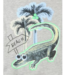 Stella McCartney Kids Chuckle Tee CROCO BEACH Stella McCartney Kids Chuckle Tee CROCO BEACH