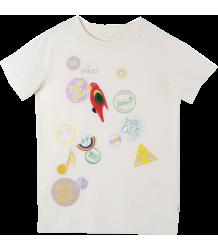Stella McCartney Kids Arlow T-Shirt BADGES Stella McCartney Kids Arlow T-Shirt BADGES
