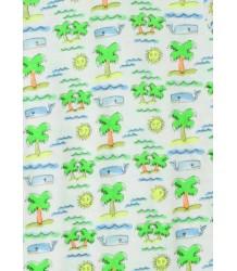 Stella McCartney Kids Buster T-shirt FLURO BEACH Stella McCartney Kids Buster T-shirt FLURO BEACH
