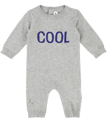 Zadig & Voltaire Kid Baby Knitted Suit COOL Zadig & Voltaire Kid Baby Knitted Suit grijs melange