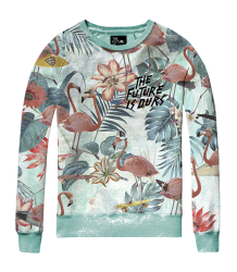 The Future is Ours FLAMINGO Sweatshirt The Future is Ours FLAMINGO Sweatshirt light