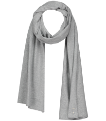 Gray Label Summer Raw Edge Scarf Gray Label Summer Raw Edge Scarf grey melange