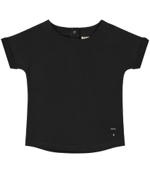 Gray Label Summer Wide Neck Tee Gray Label Summer Wide Neck Tee black