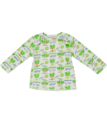 Stella McCartney Kids Buster T-shirt FLURO BEACH Stella McCartney Kids Buster T-shirt FLURO BEACH