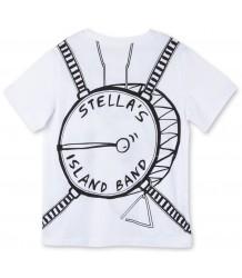 Stella McCartney Kids Arlo T-Shirt BAND + BADGES Stella McCartney Kids Arlo T-Shirt BAND   BADGES