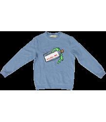 Stella McCartney Kids Biz Sweater MESSAGE IN A BOTTLE Stella McCartney Kids Biz Sweater STRIPES CROCO